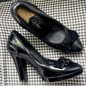 Cole Haan Patent Leather Platforms